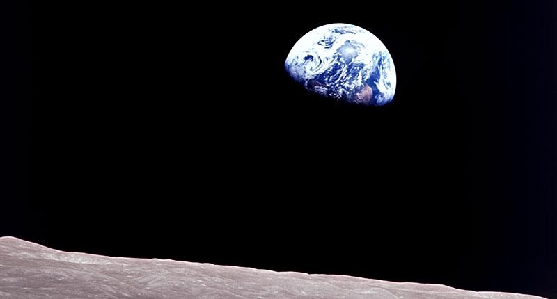 Missione Apollo 8: la Terra vista dalla luna