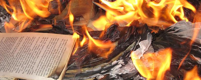 Libri in fiamme