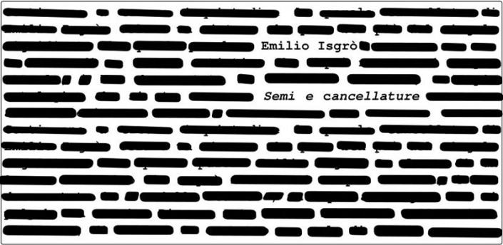 Cancellature di Emilio Isgrò
