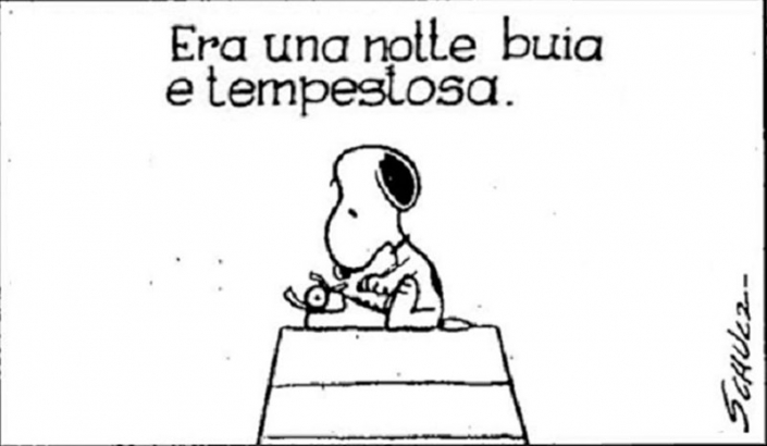 Snoopy: incipit