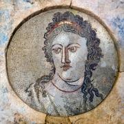 Mosaico di Mnemosine, dea della memoria