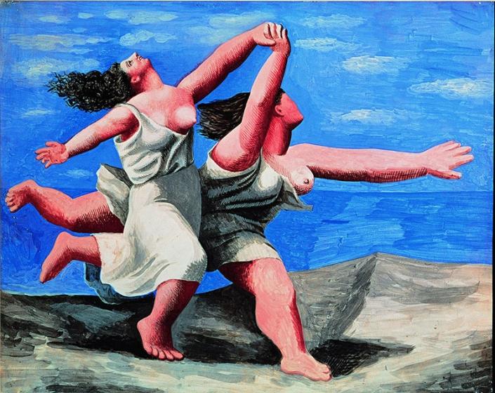 Picasso, Due donne che corrono sulla spiaggia