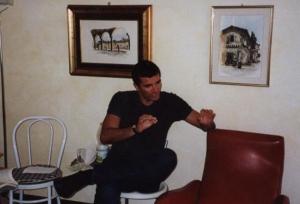 Simone Cattaneo nel 2002
