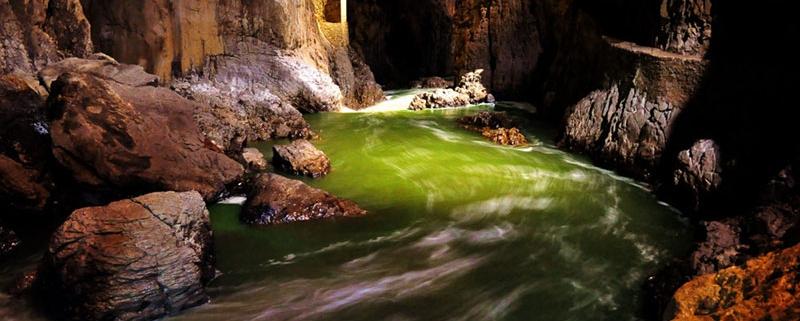 Un fiume carsico