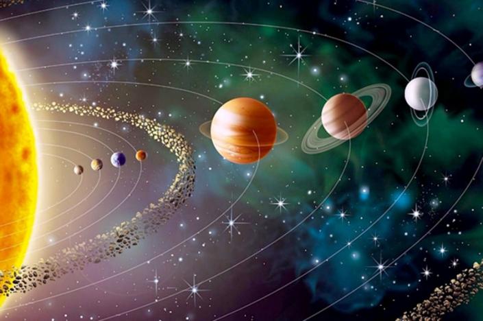 La frase è un sistema solare